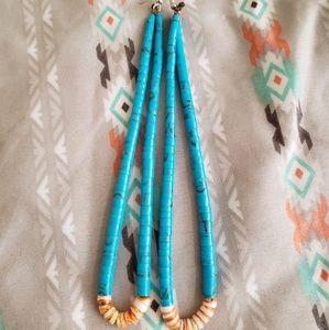 Traditional Turquoise Earrings | Jacla